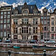 Beulingsluis. Amsterdam Art Print