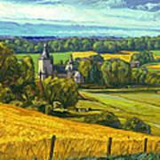 Beusdael Castle Sippenaeken Art Print
