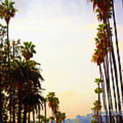 Beverly Hills In La Art Print