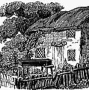 Bewick: Rural House Art Print