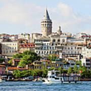 Beyoglu District In Istanbul Art Print by Artur Bogacki