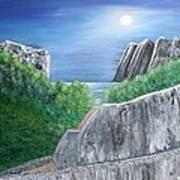 Beyond The Rock Art Print