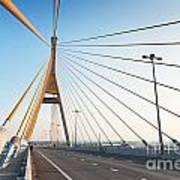 Bhumipol Bridge Art Print