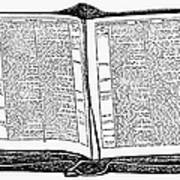 Bible, 19th Century Art Print