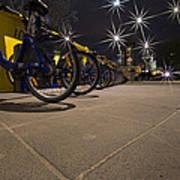 Bicycle Lane Art Print