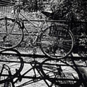 Bicycle Shadow 1 Art Print