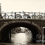 Bicycles Of Amsterdam Art Print