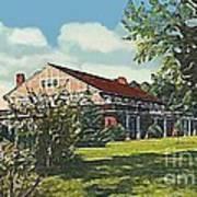 Bienvenue Country Club In Rocky Mount N C Art Print