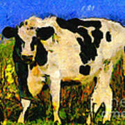 Big Bull 2 . 7d12437 Print by Wingsdomain Art and Photography