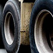 Big Fat Tires Art Print