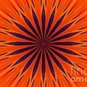 Big Orange Art Print