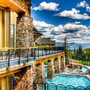 Big Sky Ski Resort Montana Art Print