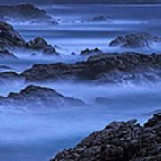 Big Sur Mist Art Print