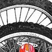 Big Wheels Keep On Turning Art Print by Jerry Cordeiro
