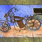 Bike 2a Art Print