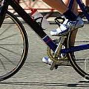 Bike Race Art Print