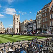 Bikes Cambridge Art Print