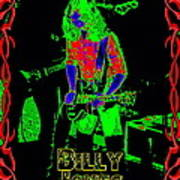 Billy Gets Psychedelic Art Print