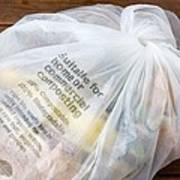 Biodegradable Plastic Bag Art Print