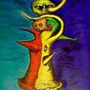 Biohazard  Voodoo Art Print