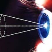 Biometric Eye Scan Art Print by Pasieka