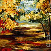 Birch Forest 4 Art Print