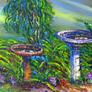 Bird Baths Art Print