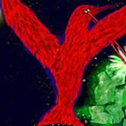 bird of Superman Art Print