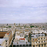 Panoramic Paris Art Print
