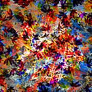 Birth Of Colors Art Print