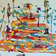 Birthday Art Print by Helene Henderson