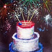 Birthday In America Art Print