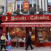 Biscuits And Calvados Art Print