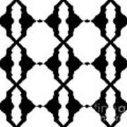Black And White No.180. Art Print