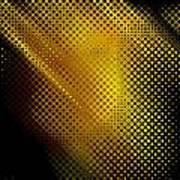 Black And Yellow Abstract II Art Print