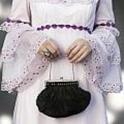 Black Handbag Art Print by Joana Kruse