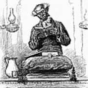Black Preacher, 1890 Art Print