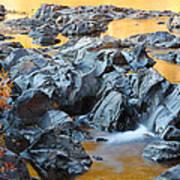 Black River Reflections At Johnsons Shut Ins State Park Vi Art Print
