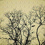 Blackbirds Roost Art Print