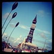 Blackpool Tower Art Print by Chris Jones