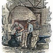 Blacksmith, C1865 Art Print