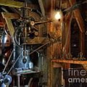 Blacksmith Workshop Art Print
