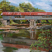 Blair Bridge Campton New Hampshire Art Print