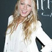Blake Lively Wearing A Dolce & Gabbana Art Print