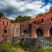 Blast Furnaces Art Print
