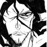 Bleach Zangetsu Art Print