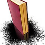 Bleading Book Art Print