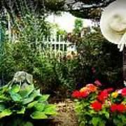 Blissful Garden Art Print
