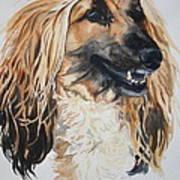 Blonde Art Print by Susan Herber