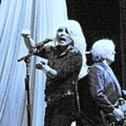 Blondie Live 2010 Art Print